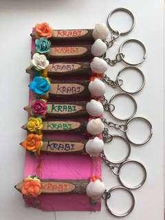 KRABI Colour Pencil Keychains