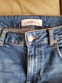 Zara Jeans 九分 闊腳褲