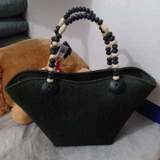 Black Native Hand Bag (from Bicol)