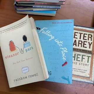 Eleanor & Park + Falling Into Place + Theft