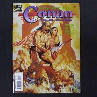 CONAN SAGA #95(1995) The Death of Belit - Marvel Comics Magazine