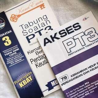 PT3 kemahiran hidup reference books