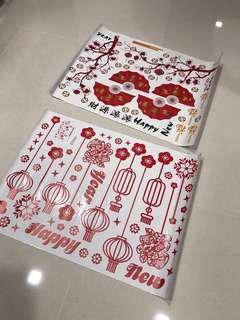 CNY Stickers Decorations!