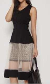 MDS Collections mesh dress