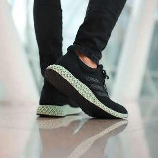 Adidas 4D Futhrecraft Ash Green Black US 10