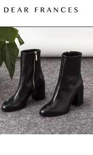 BNIB Italian Leather booties