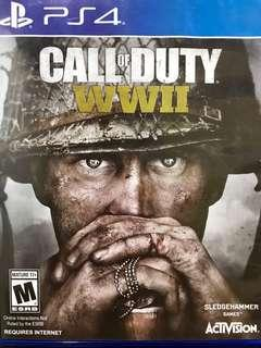 Call of Duty WWII game for PS4
