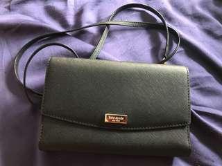 USED ONCE Kate Spade Wallet Sling Bag