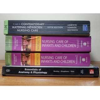 DECLUTTERING - BOOKS FOR SALE ( NURSING/ EDUCATION/ TEXTBOOKS )