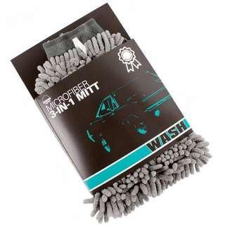 🤩[2019] Zwipes Auto 886 Professional Microfiber 3-in-1 Car Wash Mitt
