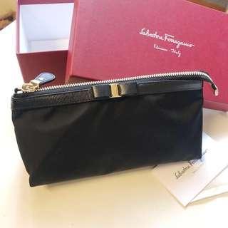 Salvatore Ferragamo 化妝袋 Chanel Hermès lv Dior 情人節