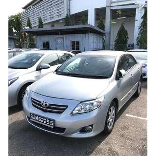 RENTING OUT FAST - Toyota Altis 1.6a (Ideal for GRAB/GoJek)