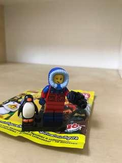 Wildlife Photographer, Mini Lego Figurine
