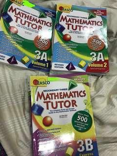Casco secondary three mathematics tutor full set