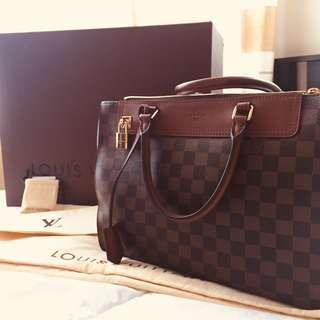 LOUIS VUITTON Damier Canvas Greenwich Bag