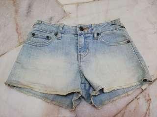 (FREE) Denim Shorts
