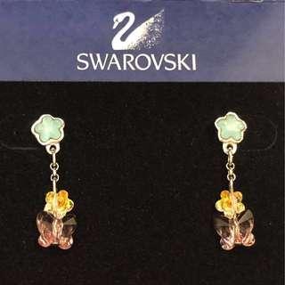SWAROVSKI Floral earrings