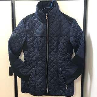 全新 英國Musto保暖修腰薄棉褸 外套 深藍色