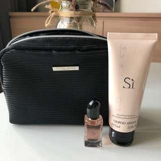 Sì Giorgio Armani Parfum and Perfumed Body Lotion
