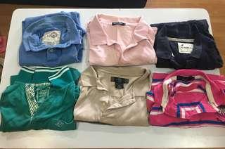 24pcs of Polo T and T Shirt