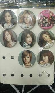 CLEARANCE 20% Off SNSD Button badge
