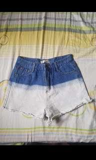 Ombre Denim shorts / Maong Shorts