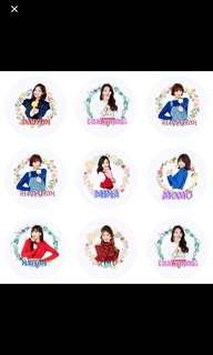 [INSTOCKS] Twice Fans (with handle)