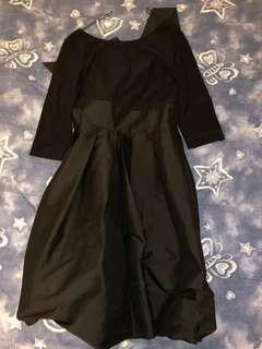 Bow-back dress