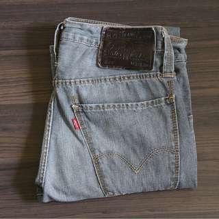 Grey Skinny Levi's Jeans