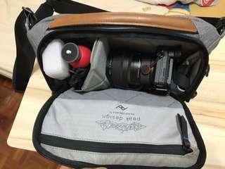 Peak Design Sling Bag 5L Ash (BAG ONLY)