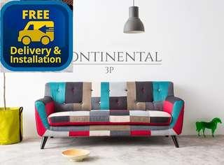 Ready stocks Free delivery 3 seater sofa