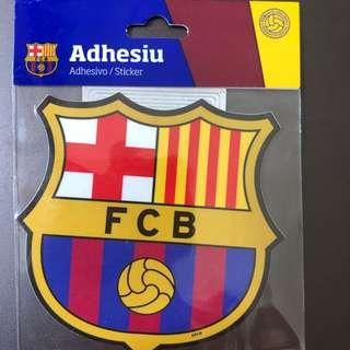 Authentic FC Barcelona Stickers Made In Spain