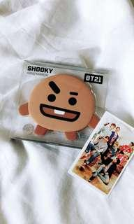 "BT21 character mirror ""shooky"""