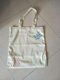 Tote Bag creative patches charm