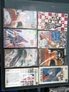 中古超級任天堂遊戲地帶, 八隻全走不散售, 有盒有說明書, 日本原裝返嚟未開個, 存放多年, 六件全部$400元,$400=6