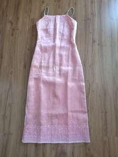 [FREE POSTAGE] Szeto Anthony Pink Dress