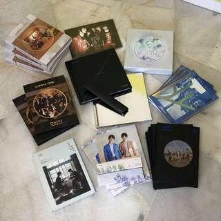 [WTS / SELLING] $5 Album Clearance Wanna One JBJ Rainz Hoya Hyungseob Euiwoong Nuest W Produce 101