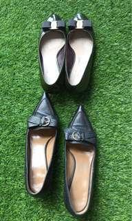 Clearance! Authentic ferragamo kitten heels