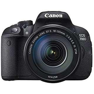 Canon EOS 700D Kit (EF-S 18-135 IS STM). Canon Malaysia Warranty 1+1 Years
