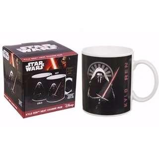 Star Wars Kylo Ren / Light Saber Heat Change Mug Cup for Christmas Xmas Gift Gifts Present Presents