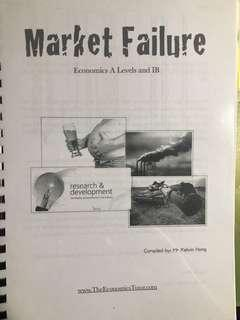 A Level Economics Market Failure notes by Kelvin Hong