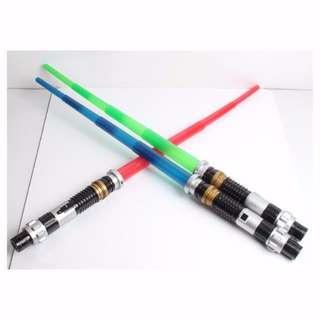 Star Wars Light Saber Sword with Light and Sound Effect