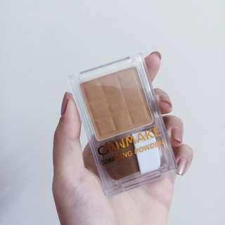 🚚 Canmake巧克力小顏修容餅