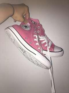 BNWT - Chuck Taylor All Star Colour High Top Pink With Zip