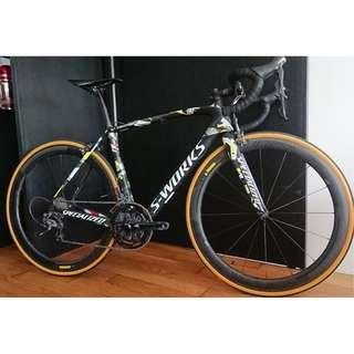 Limited Edition Peter Sagan S-Works Tarmac SL5