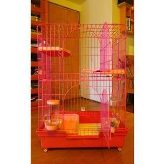 雙層烤漆貓籠