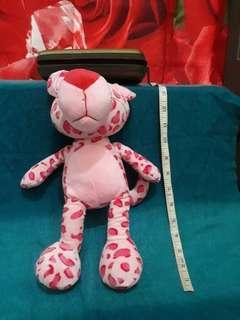 Pink panther cheetah 2 stuffed toy plush doll