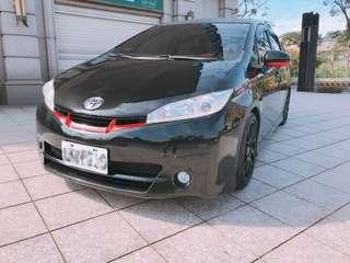12年Toyota wish 7人座