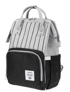 🚚 ❤ On-hand : Diaper Bag Stripe Black