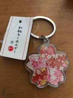 日本手信 櫻花鎖匙扣